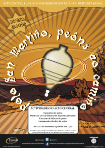 cartaz peón muimenta ACTIVIDADES